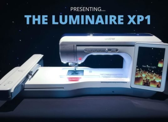 Brother Luminaire Innov-is XP1 - Embroidery & Quilting Machine
