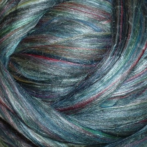Ashland Bay - Multi-Coloured Merino/Tussah - McKenzie
