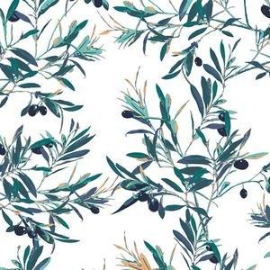 Art Gallery Fabrics - Mediterraneo - Olive Foliage