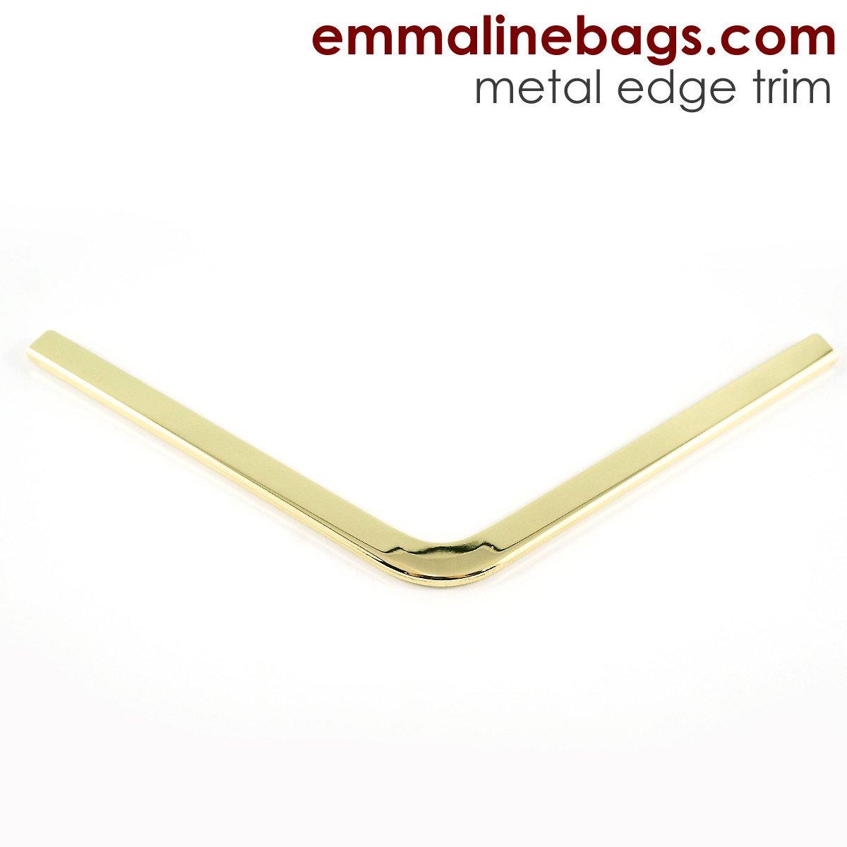 Emmaline - Metal Edge Trim A For Purses - Gold