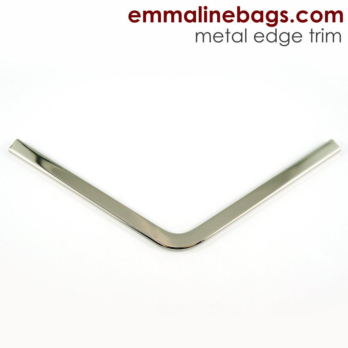 Emmaline - Metal Edge Trim A For Purses- Nickel