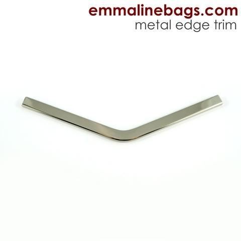 Emmaline - Metal Edge Trim B For Purses- Nickel