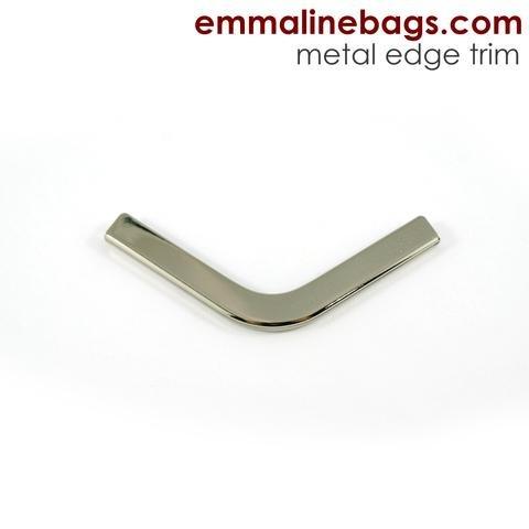 Emmaline - Metal Edge Trim C For Purses- Nickel