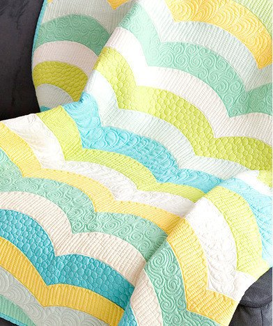 Sew Kind of Wonderful - Metro Waves Quilt Pattern