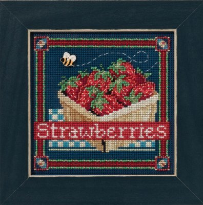 Mill Hill - Buttons & Beads Spring Series - Strawberries