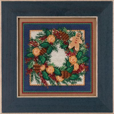 Mill Hill - Buttons & Beads Winter Series - Spiced Wreath