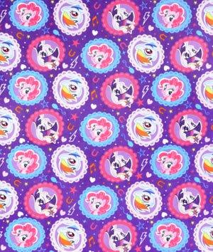 Springs Creative - Disney Minky - My Little Pony - Ponies Framed
