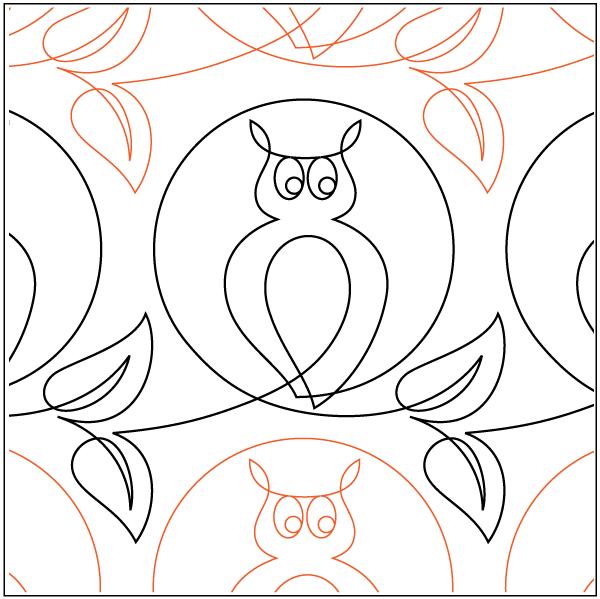 Urban Elementz- Pantograph - Moonstruck (10 wide pattern)
