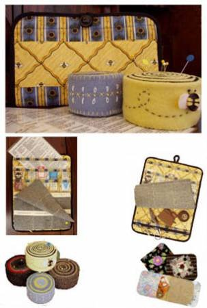 Patterns by Annie - Needle Cases & Wool Pincushion