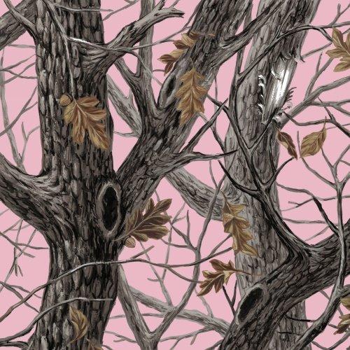 Baum Textile Mills - Winter Camo Pink - Winter Fleece