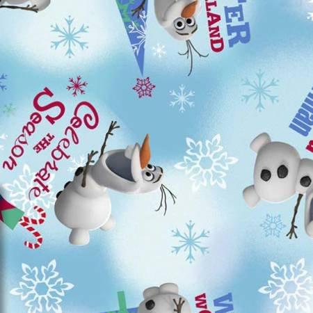 Springs Creative - Frozen Olaf Winter Wonderland - Blue