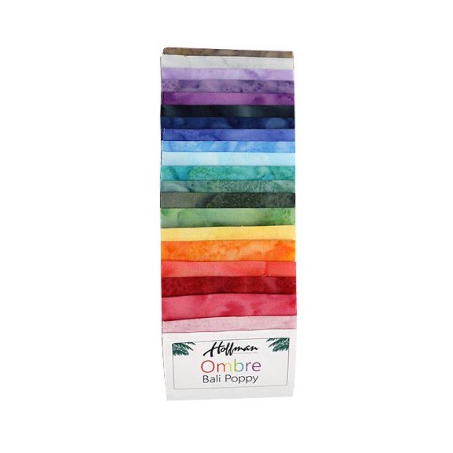 Trend-Tex Fabrics - Hoffman - Ombre Bali Poppy