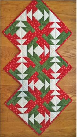 Cut Loose Press - On Point Table Runner - 18'' x 37''