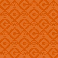 Quilting Treasures - 1 in A Minion - Set Geo blender - Orange
