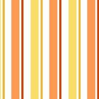 Quilting Treasures - 1 in A Minion - Stripe - Orange