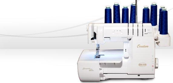 Baby Lock Ovation - Coverstitch & Serger Machine (Air Threader) 8 thread