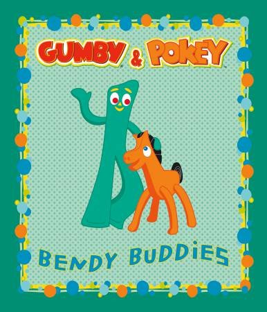Riley Blake Designs - Gumby - Panel - Green
