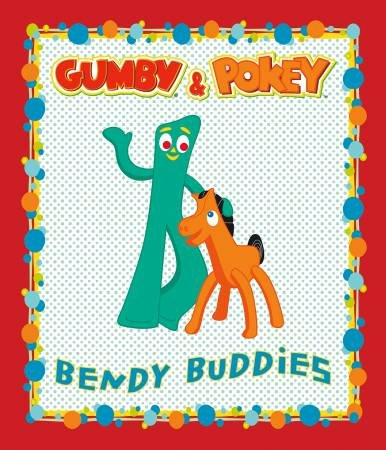 Riley Blake Designs - Gumby - Panel - Red