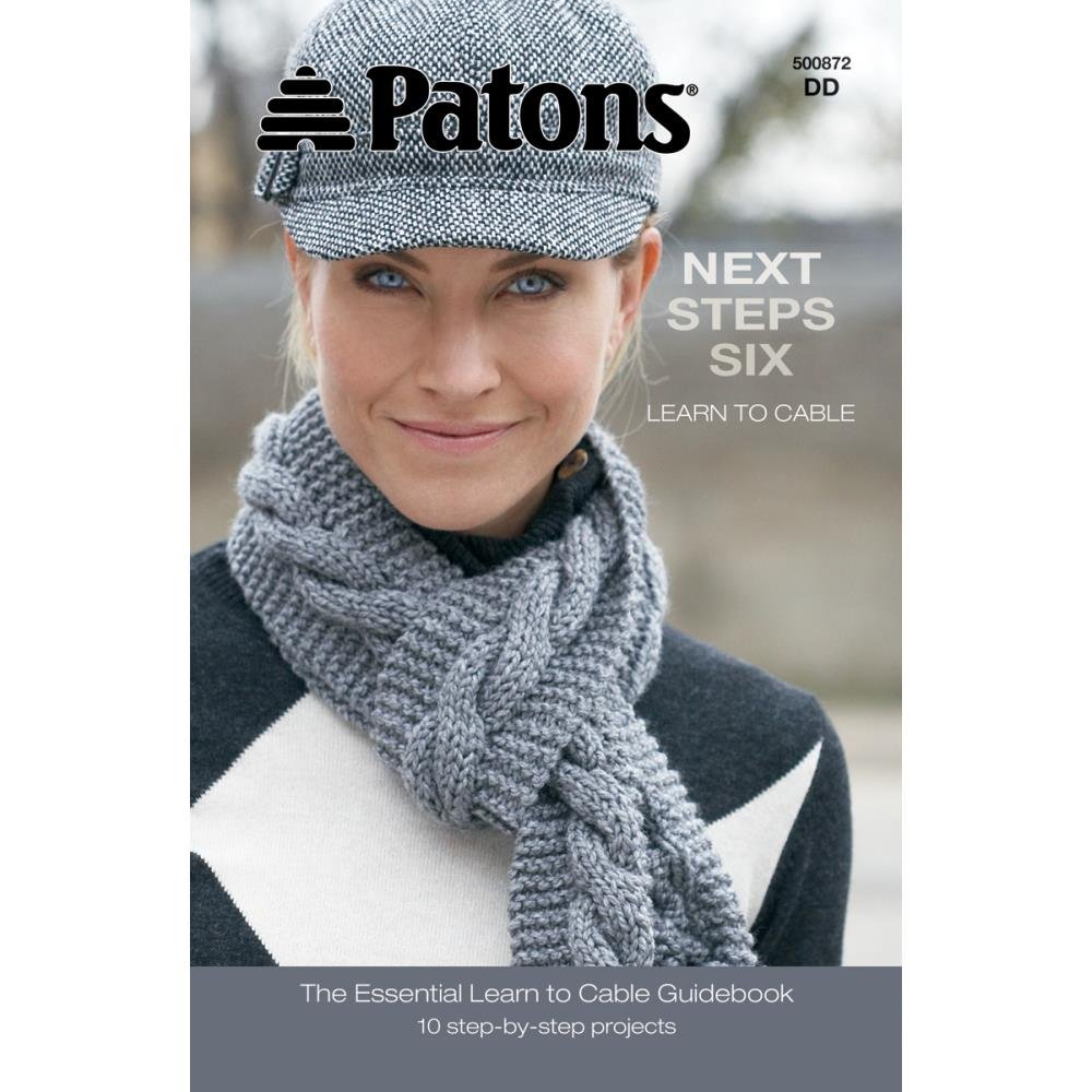 Patons - Next Steps - Six - Learn to Cable