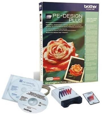 Brother - PE-Design Plus - Embroidery Machine Design Software