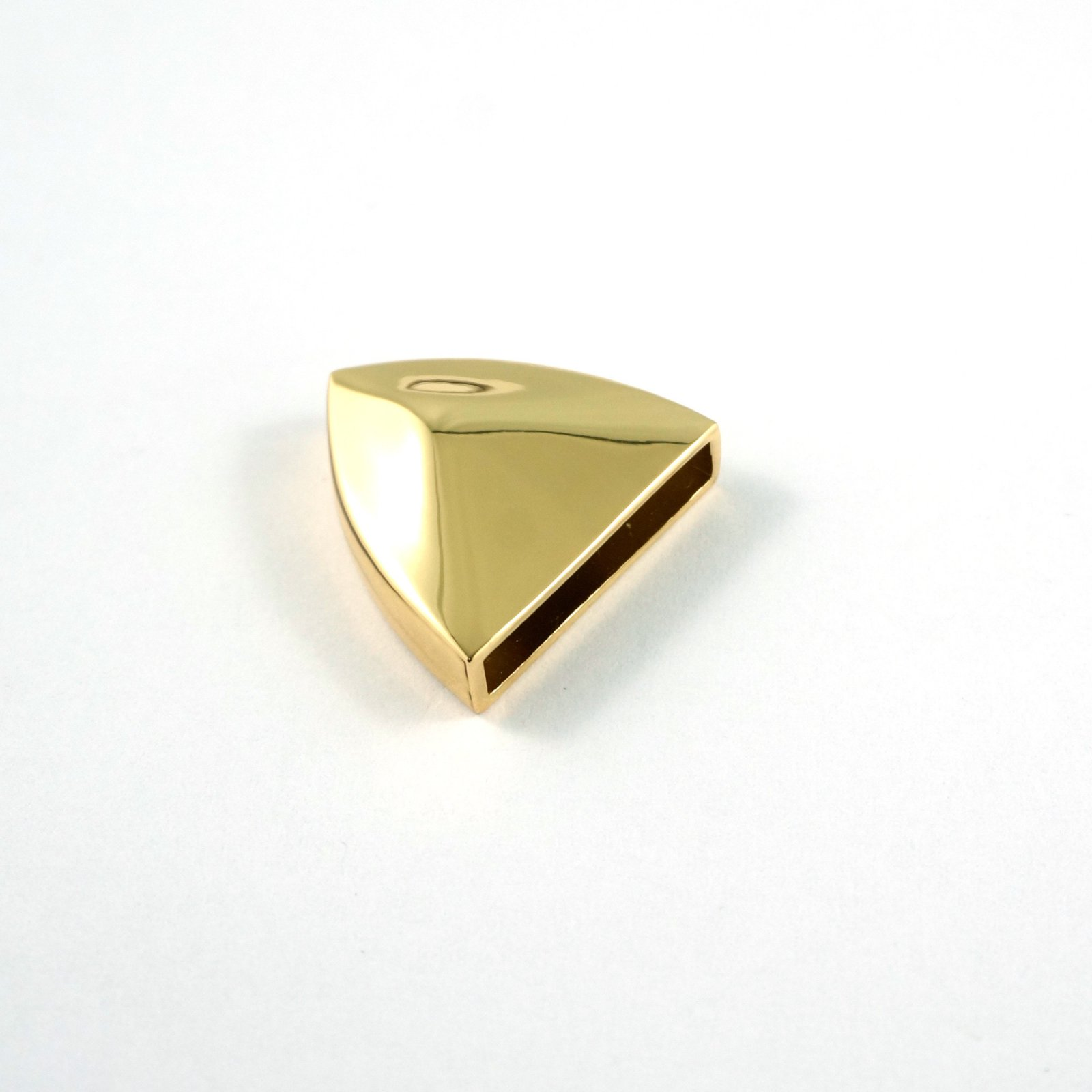 Emmaline - Pointed Strap End Caps - Gold