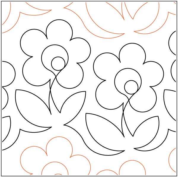 Urban Elementz- Pantograph - Pretty Maids (9 wide pattern)