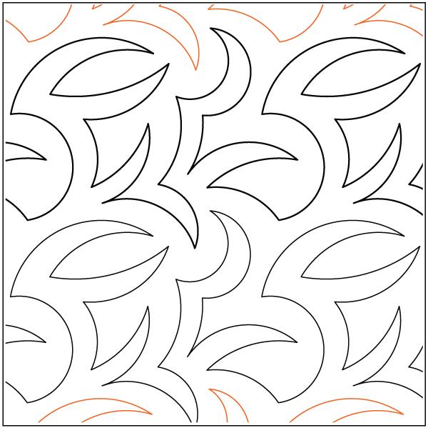 Urban Elementz- Pantograph - Prickle Patch (7.5 wide pattern)