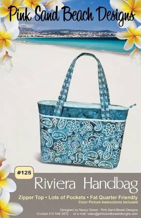 Pink Sand Beach Designs - Riviera Handbag Pattern