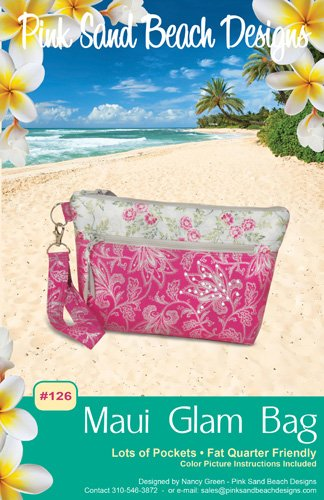Pink Sand Beach Designs - Maui Glam Bag