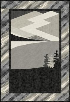 Cold Winter's Night Quilt Pattern