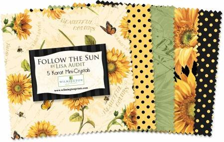 Wilmington - Follow The Sun Charm Pack - 24 piece 5in squares