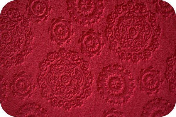 Shannon Fabrics - Majestic Cuddle - Crimson