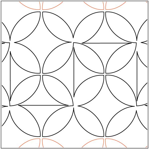 Urban Elementz- Pantograph - Retro Revolution (10 wide pattern)