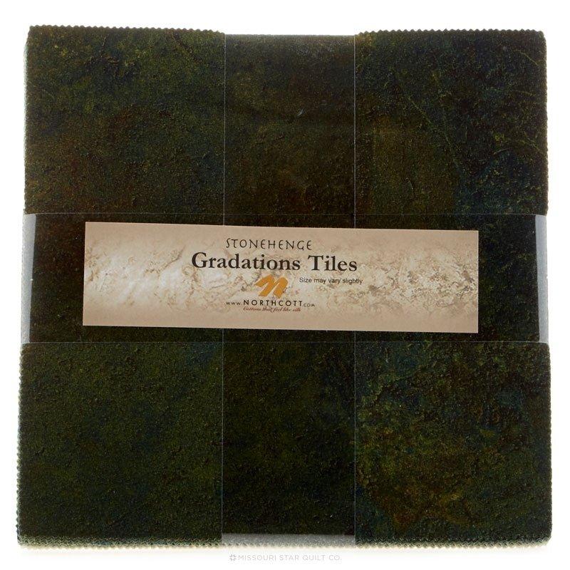 Stonehenge Gradations Tiles - 42pcs 10 Squares - Robin's Egg