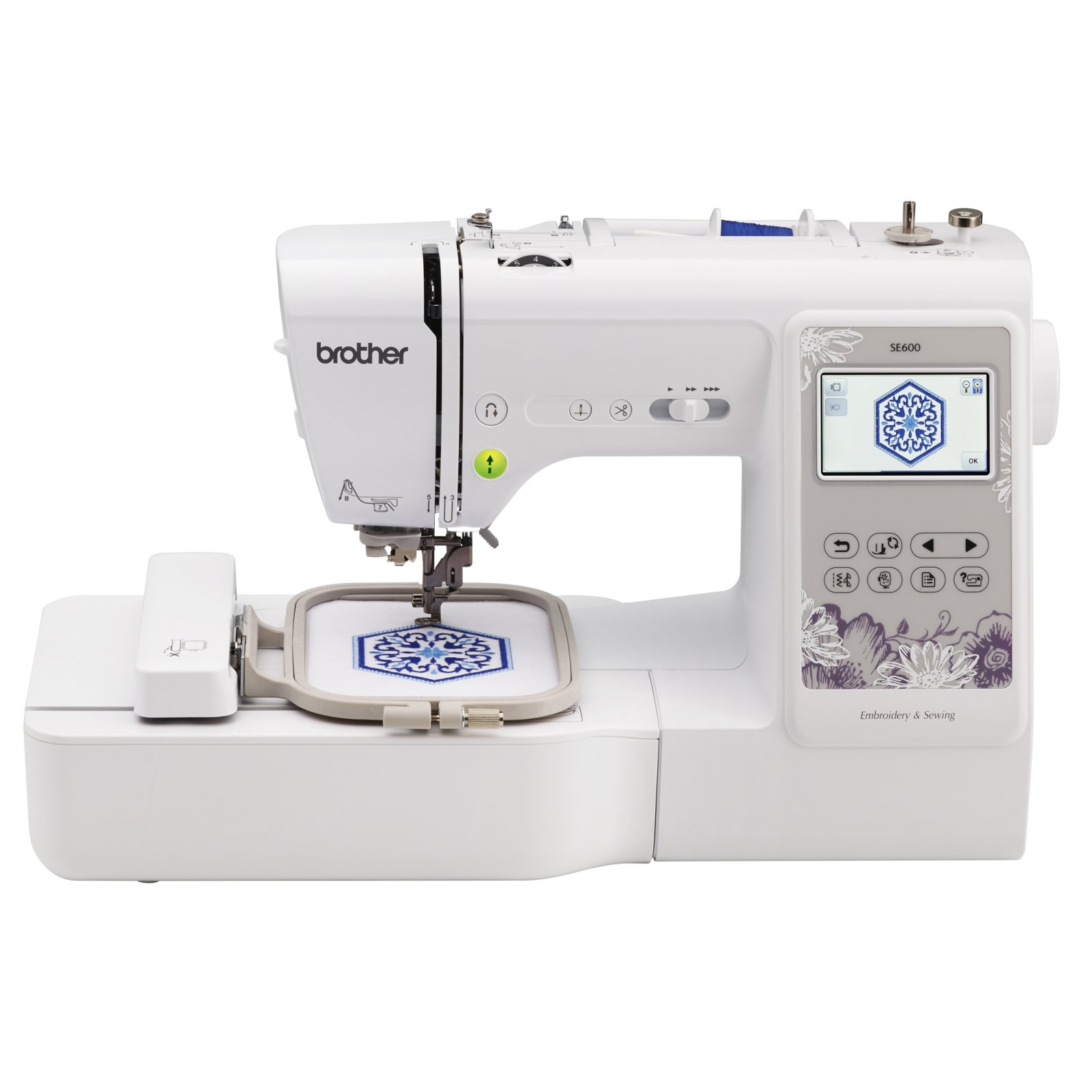 Brother SE600 - Sewing and Embroidery Machine