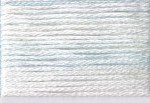 8003 Cosmo Seasons Variegated Embroidery Floss White/pale Blue