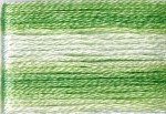 8013 Cosmo Seasons Variegated Embroidery Floss Greens