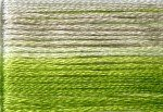 8015 Cosmo Seasons Variegated Embroidery Floss Greens/Pale Grey