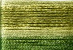8016 Cosmo Seasons Variegated Embroidery Floss Dark Greens