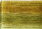 8018 Cosmo Seasons Variegated Embroidery Floss Greens/Golds