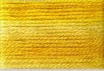 8028 Cosmo Seasons Variegated Embroidery Floss Yellows
