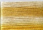 8031 Cosmo Seasons Variegated Embroidery Floss Yellows