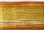 8033 Cosmo Seasons Variegated Embroidery Floss Orange/Golds