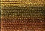 8037 Cosmo Seasons Variegated Embroidery Floss Dark Browns
