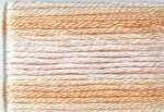 8045 Cosmo Seasons Variegated Embroidery Floss Pale Peaches
