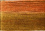 8048 Cosmo Seasons Variegated Embroidery Floss Light Browns/Rusts