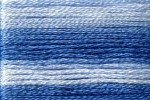 8052 Cosmo Seasons Variegated Embroidery Floss Blues