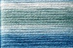 8054 Cosmo Seasons Variegated Embroidery Floss Blues