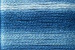 8055 Cosmo Seasons Variegated Embroidery Floss Blues