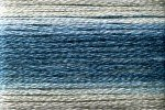 8057 Cosmo Seasons Variegated Embroidery Floss Blues/greys